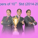 5th Batch 10th (2014-15) Toppers